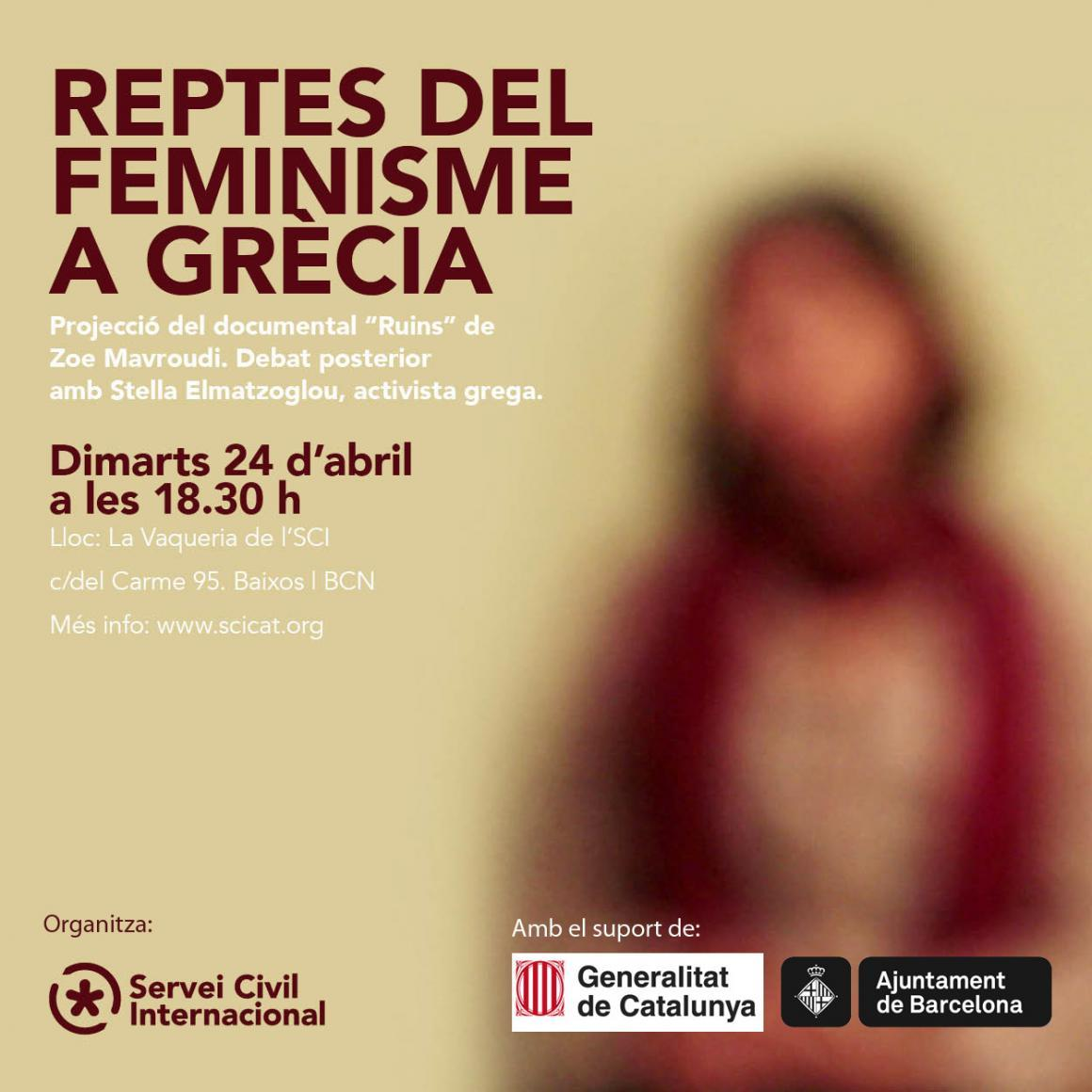 Reptes del feminisme a Grècia [Projecció i debat]
