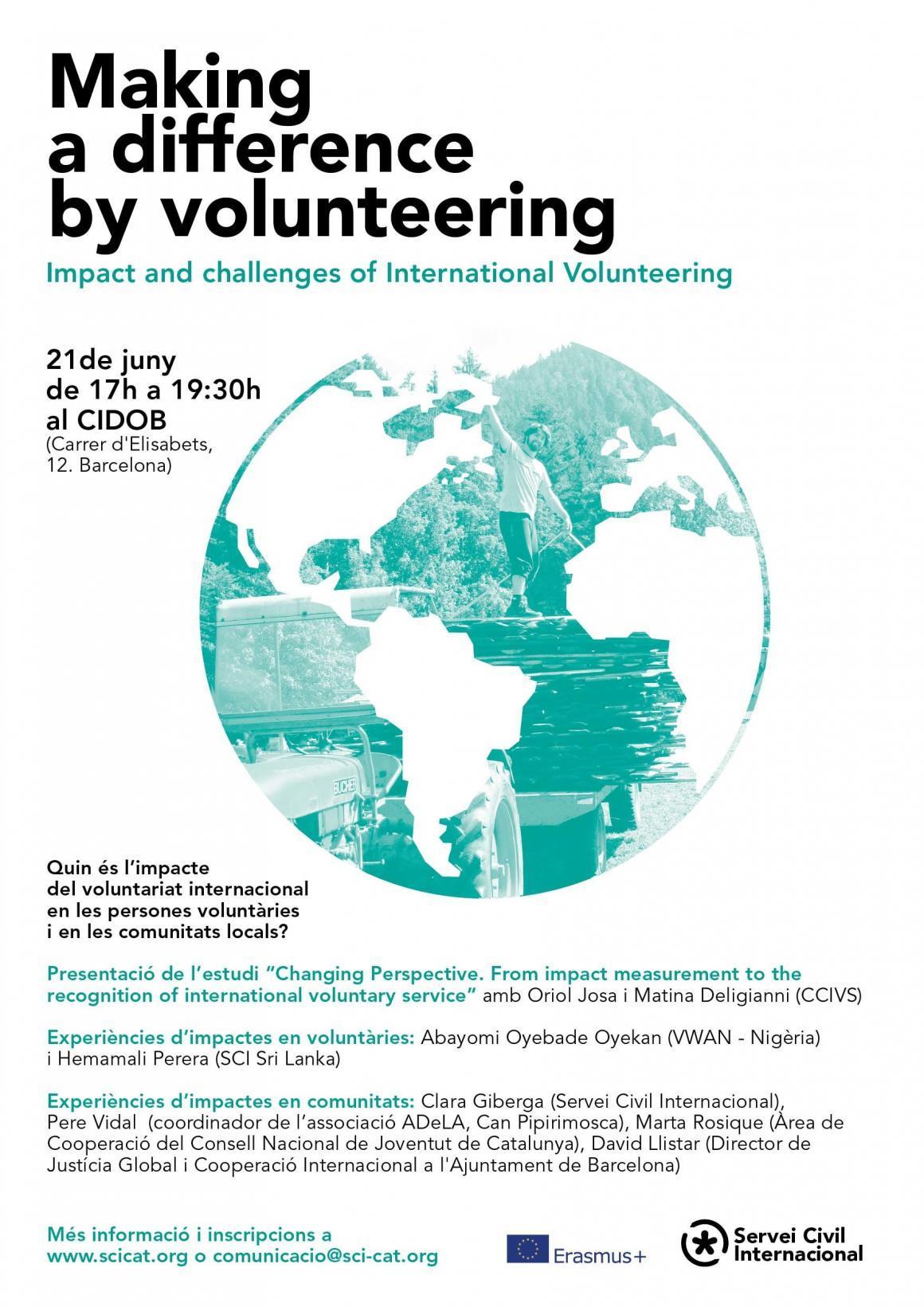 Quin és l'impacte del voluntariat internacional?