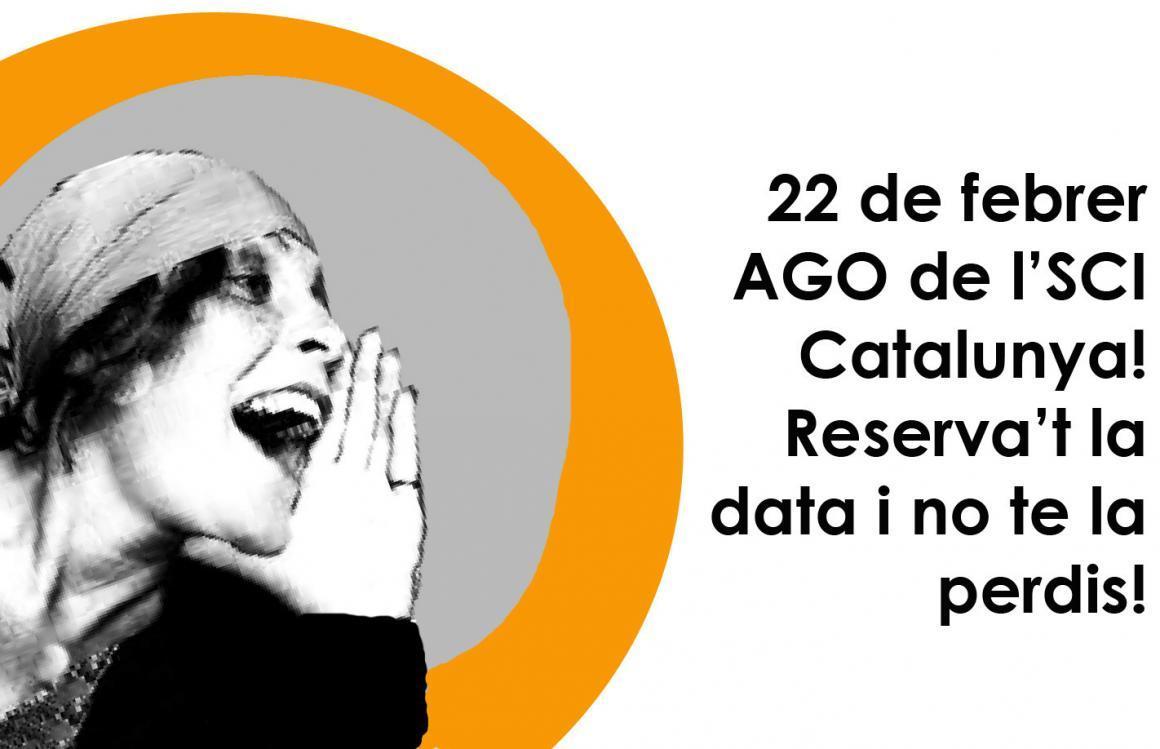 22 de Febrer Assemblea General Ordinària de l'SCI Catalunya!