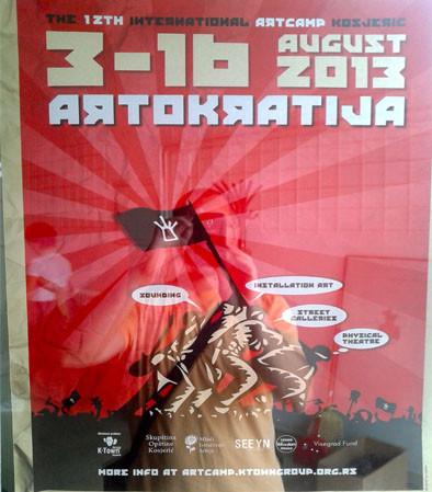 International Art Camp-Kosjeric (Sèrbia)