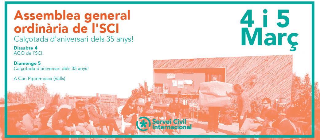4 i 5 de març: Participa a l'AGO de l'SCI i a la calçotada d'aniversari!