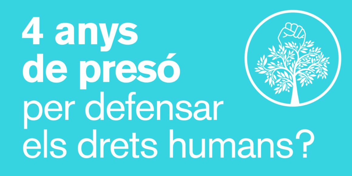 """Signa el manifest """"Defensem els Drets Humans""""!"""