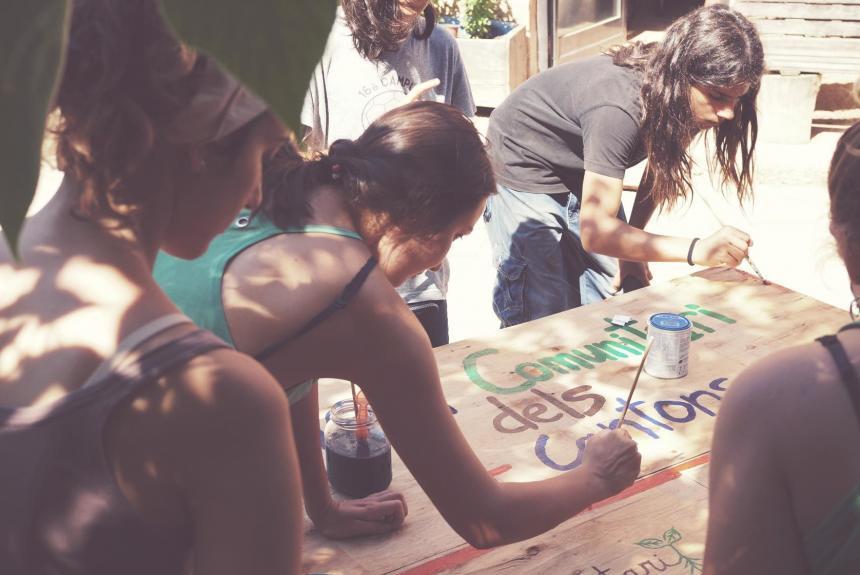 camps de treball organitzats per l'SCI al territori de parla catalana i valenciana