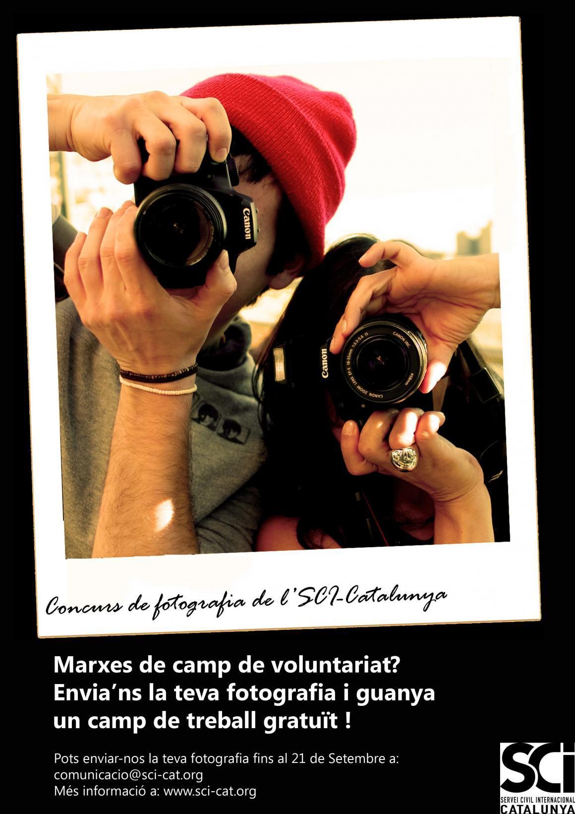 Has marxat a un Camp de Voluntariat? Participa al concurs de fotografia!