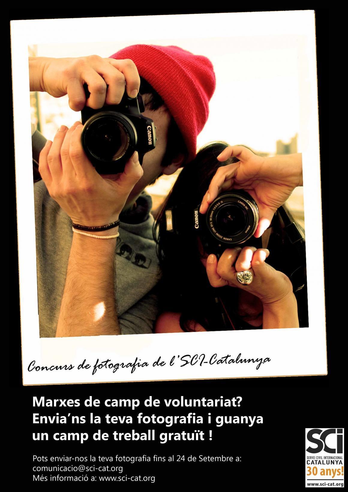 Marxes a un Camp de Voluntariat? Envian's la teva fotografia!