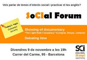 Comencem el SoCIal Forum:
