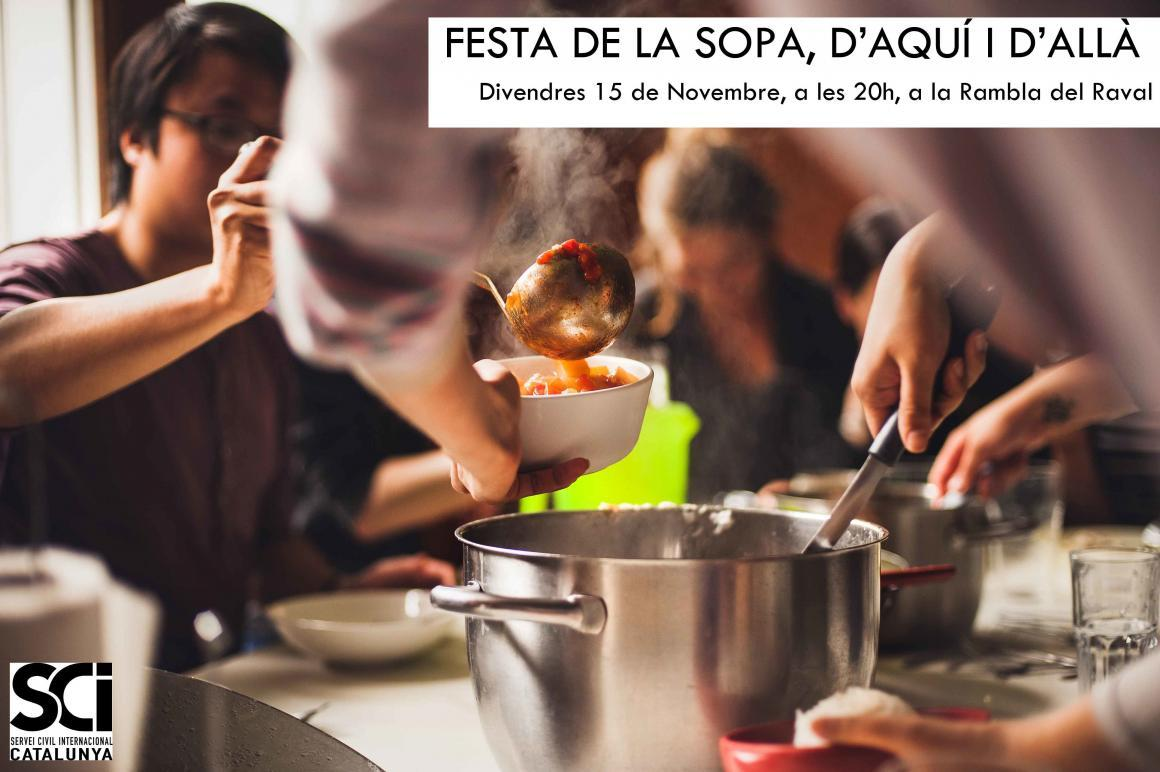 Festa de la Sopa d'aquí i d'allà! – Com participar