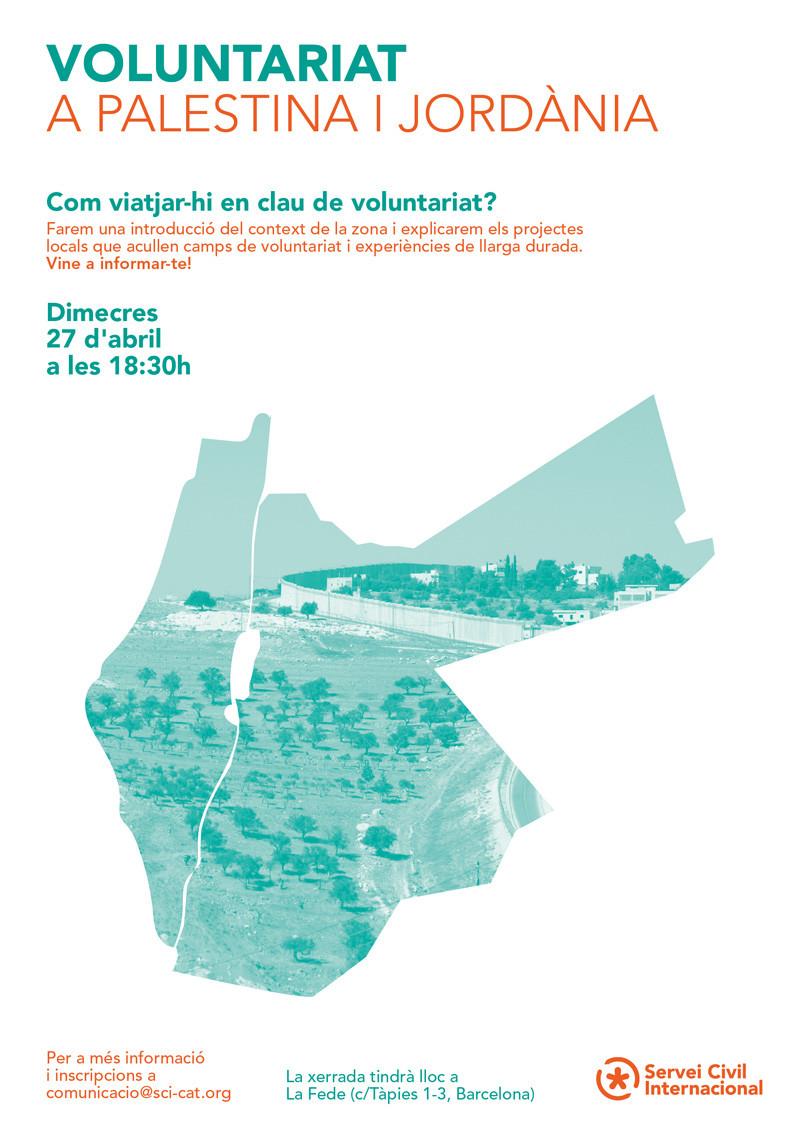 Voluntariat a Palestina i Jordània