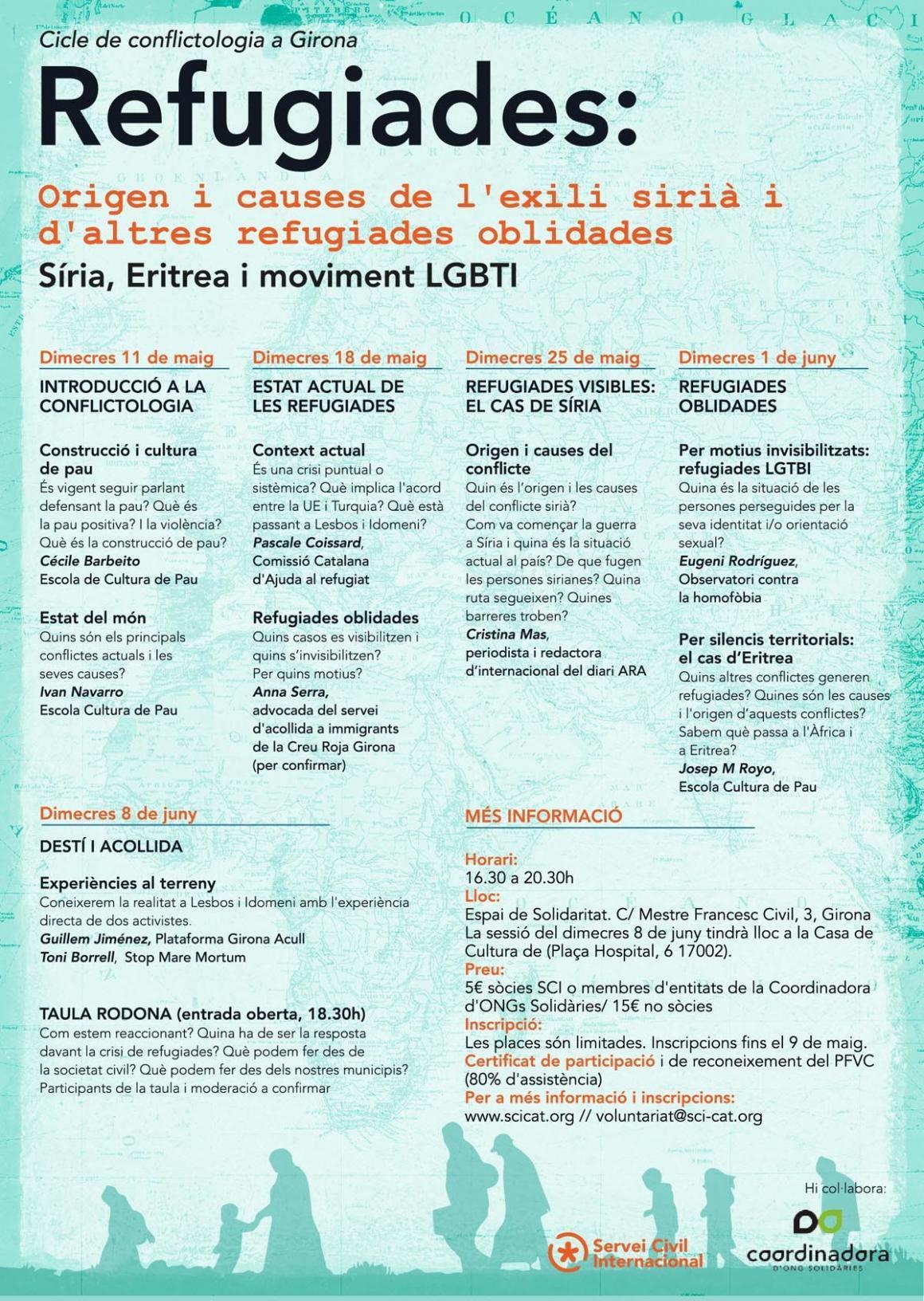 Curs de Conflictologia sobre Refugiades a Girona