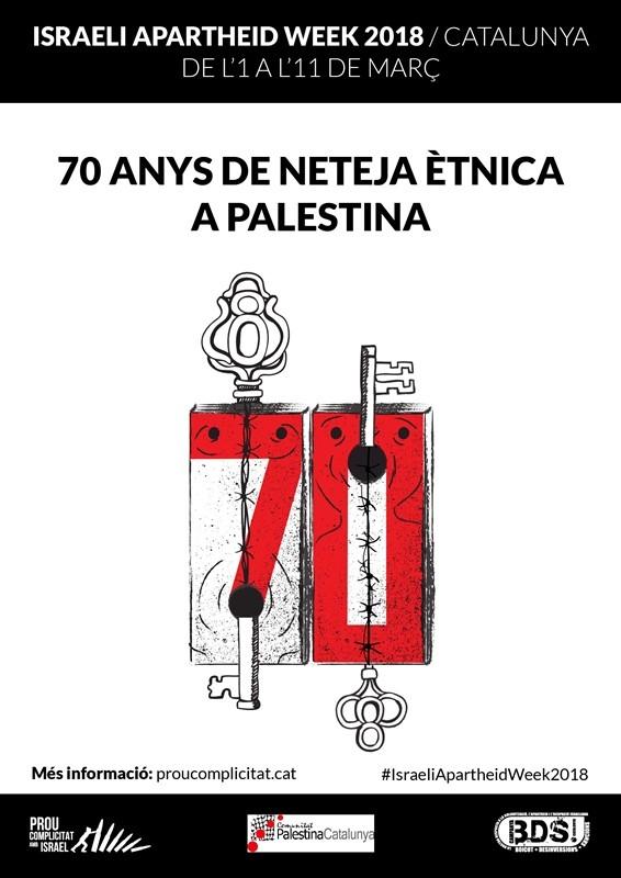 CPCI se suma a la Setmana de l'Apartheid Israelià