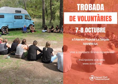 Participa a la trobada de voluntàries i activistes de l'SCI!