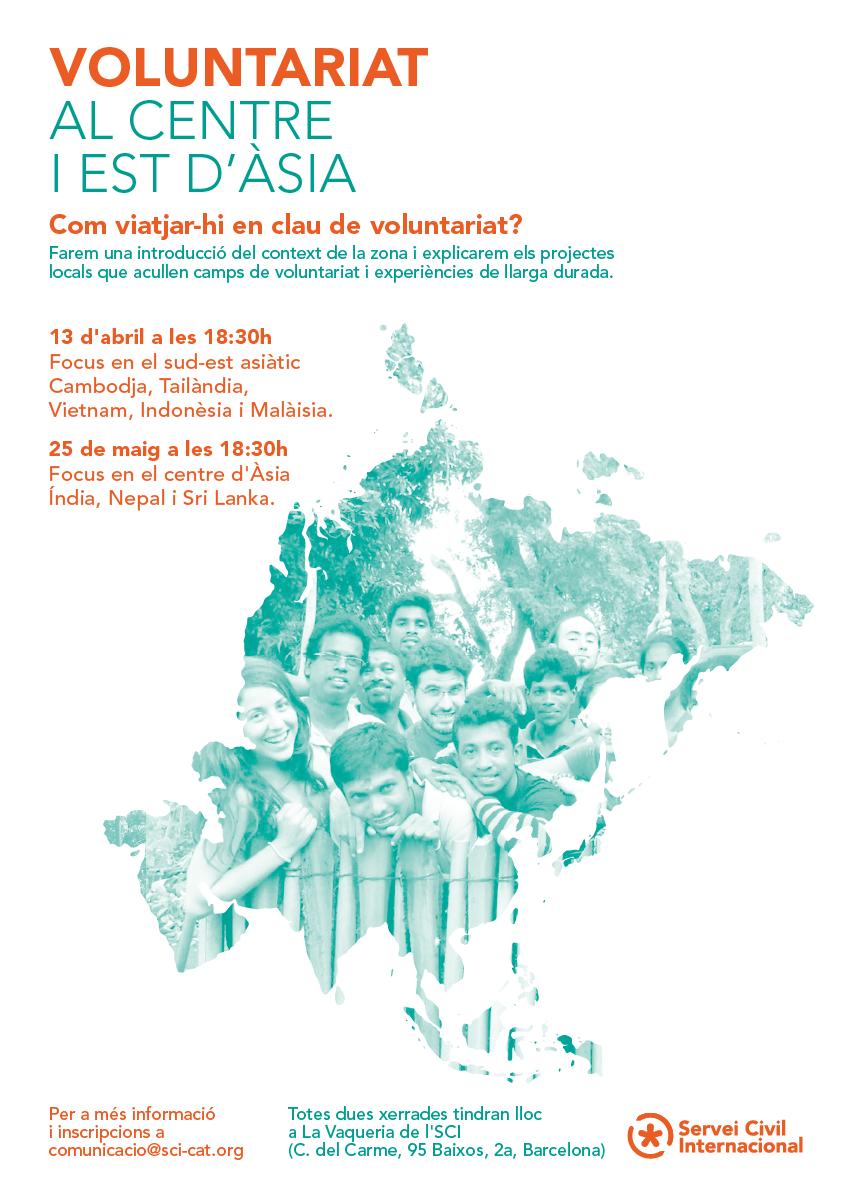 Voluntariat al centre i al sud-est asiàtic