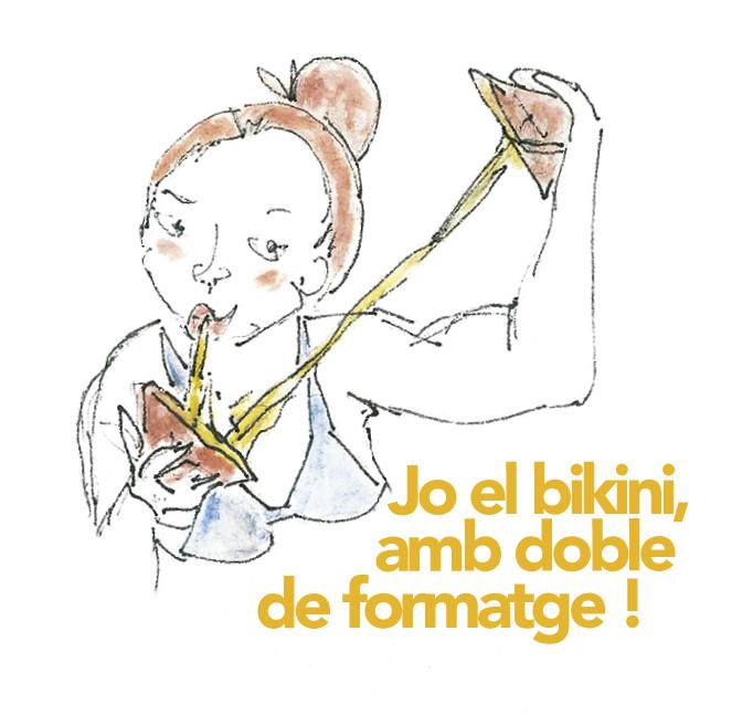 Acció protesta contra l'Operació Bikini! #JoNoComproSexisme !