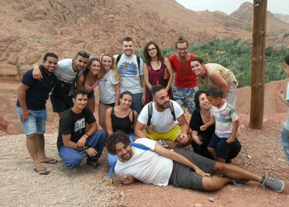 Camp de treball d'arqueologia a Chellah (Rabat. Marroc)