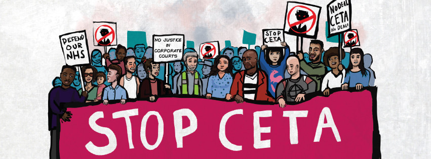 Ens mobilitzem contra el CETA!