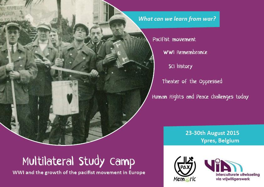 URGENT! Participa en un camp de voluntariat sobre memòria històrica a Bèlgica!