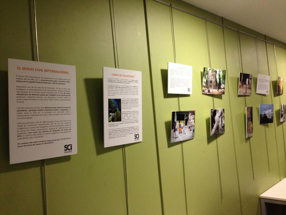 L'exposició sobre els camps de voluntariat ja roda per Barcelona