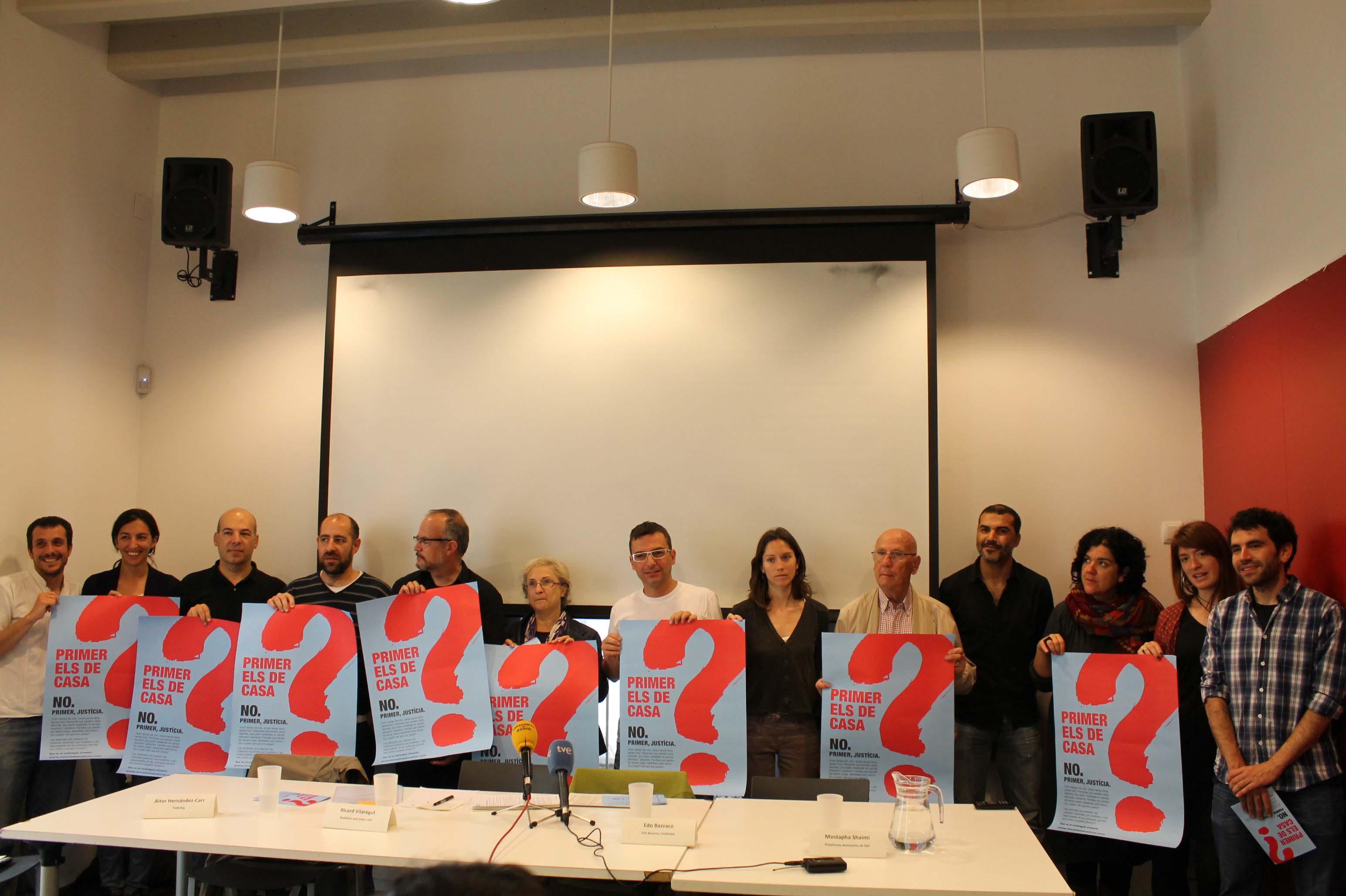 La societat civil engega una campanya antiracista per les eleccions europees