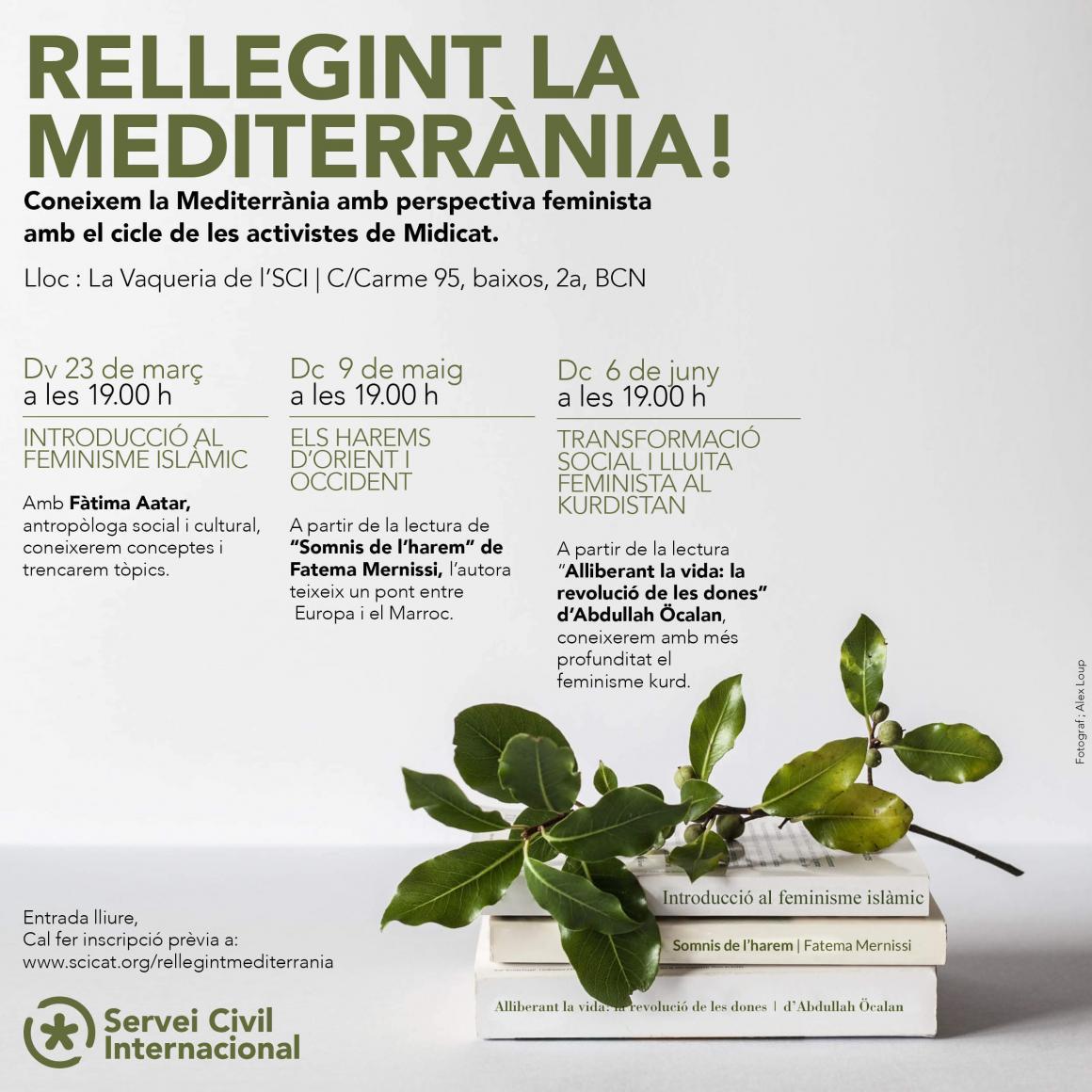 Club de lectura: Rellegint la mediterrània!