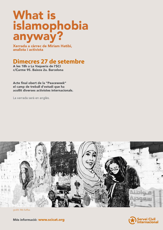 La Peaceweek sobre migracions acull 15 voluntàries internacionals a Barcelona