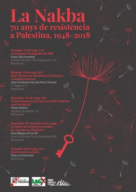 La Nakba. 70 anys de resistència a Palestina