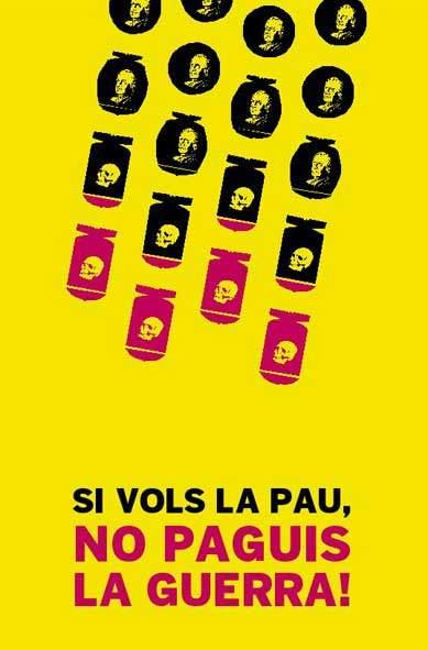 Desarma els teus impostos, fes objecció fiscal i ajuda a l'SCI Catalunya!