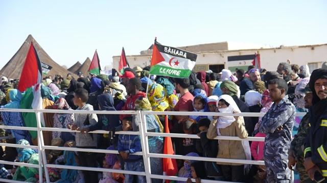 [Acte]: La lluita contra l'espoli al Sàhara Occidental