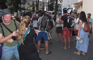 Peace Caravan: Welcome to Barcelona, benvingudes a Barcelona!!!