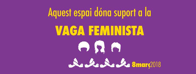 L'SCI se suma a la vaga feminista del 8M
