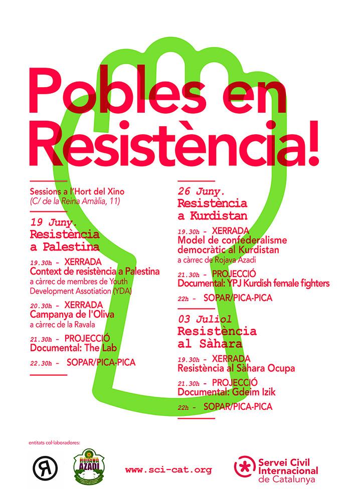 Els divendres… Cicle de Pobles en Resistència!