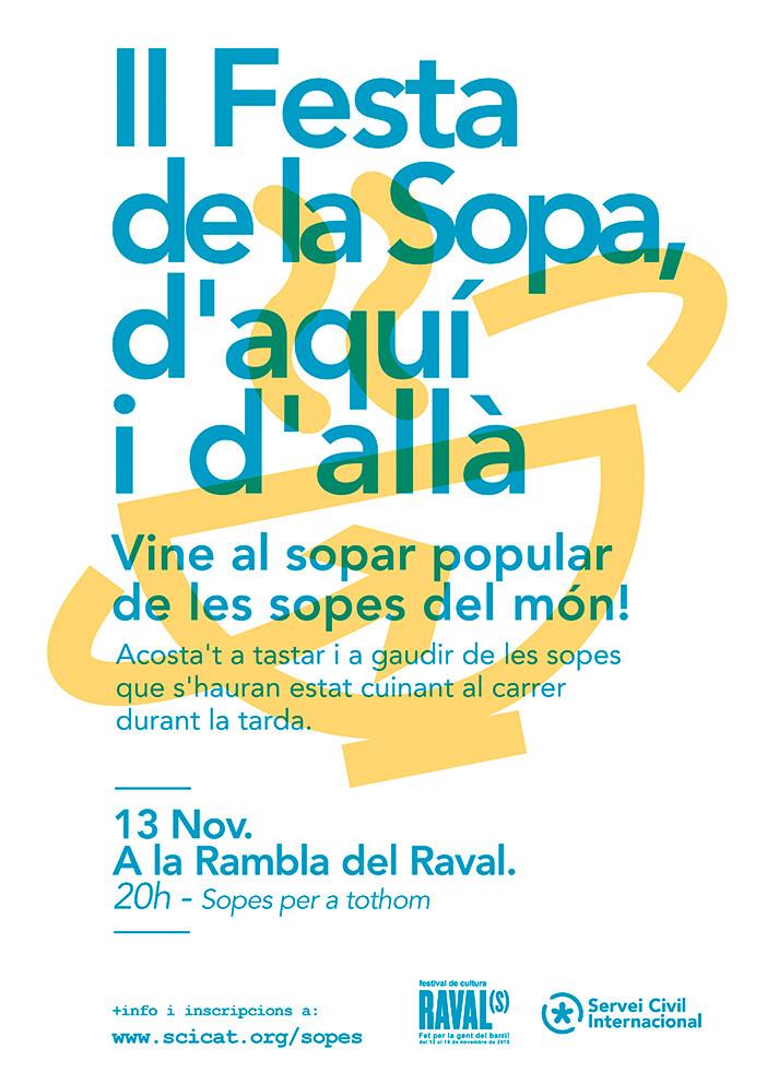 Festa de la Sopa d'aquí i d'allà al Raval!