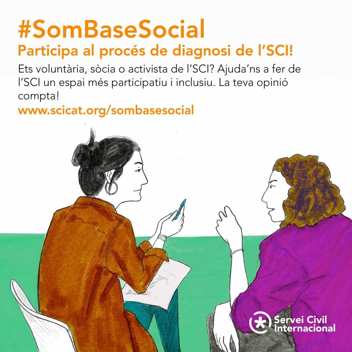 #SomBaseSocial: Participa al procés de diagnosi de l'SCI!