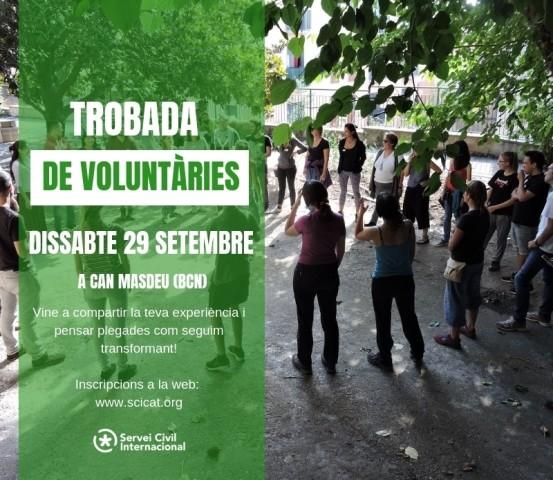 Vine a la trobada de voluntàries de l'SCI!