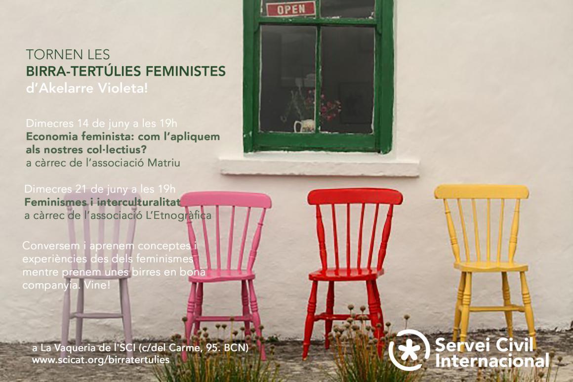Seguim amb més birratertúlies feministes!