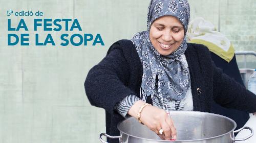 Participa a la 5a edició Festa de la Sopa!
