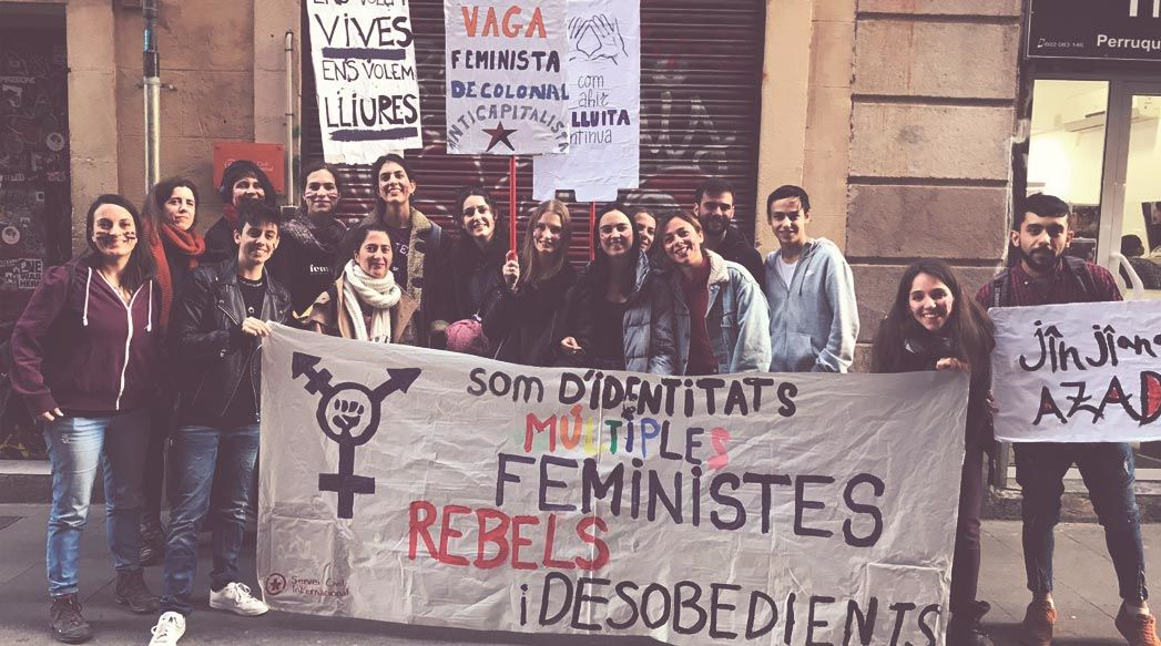 Akelarre violeta va sortir al carrer per la vaga feminista!