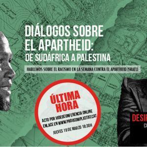 Converses sobre l'apartheid amb Mandla Mandela i Desirée Bela [Videoconferència]