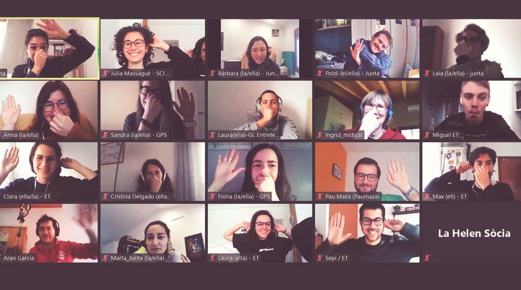 AGO SCI 2021: hem celebrat l'AGO en línia per primera vegada!