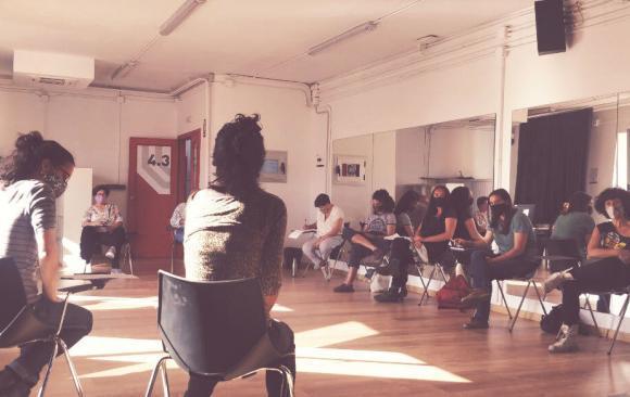 Participa al training '5 shades of blue' a Roma