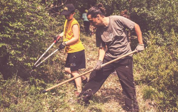 Workcamp: Recovery of ancient roads of the Valley of Siarb!