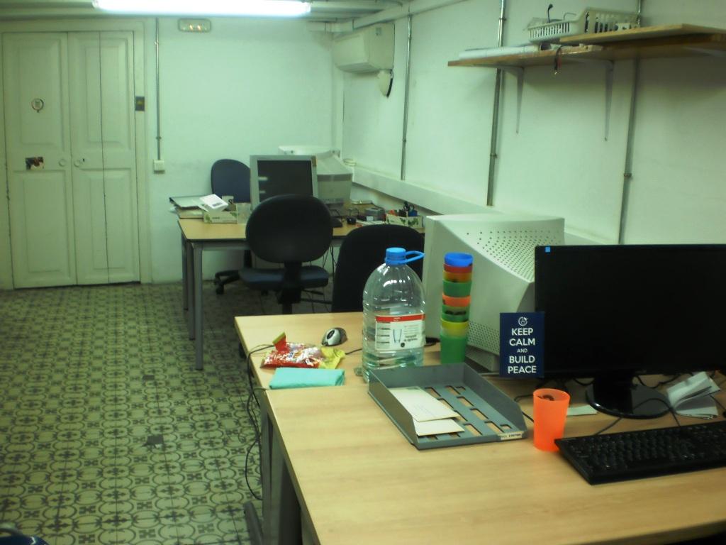 oficina al pis superior